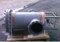 Фильтр стальной газовый диаметров от ДУ32 до ДУ500